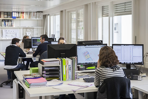 Bureaux Chouzenoux Architecture