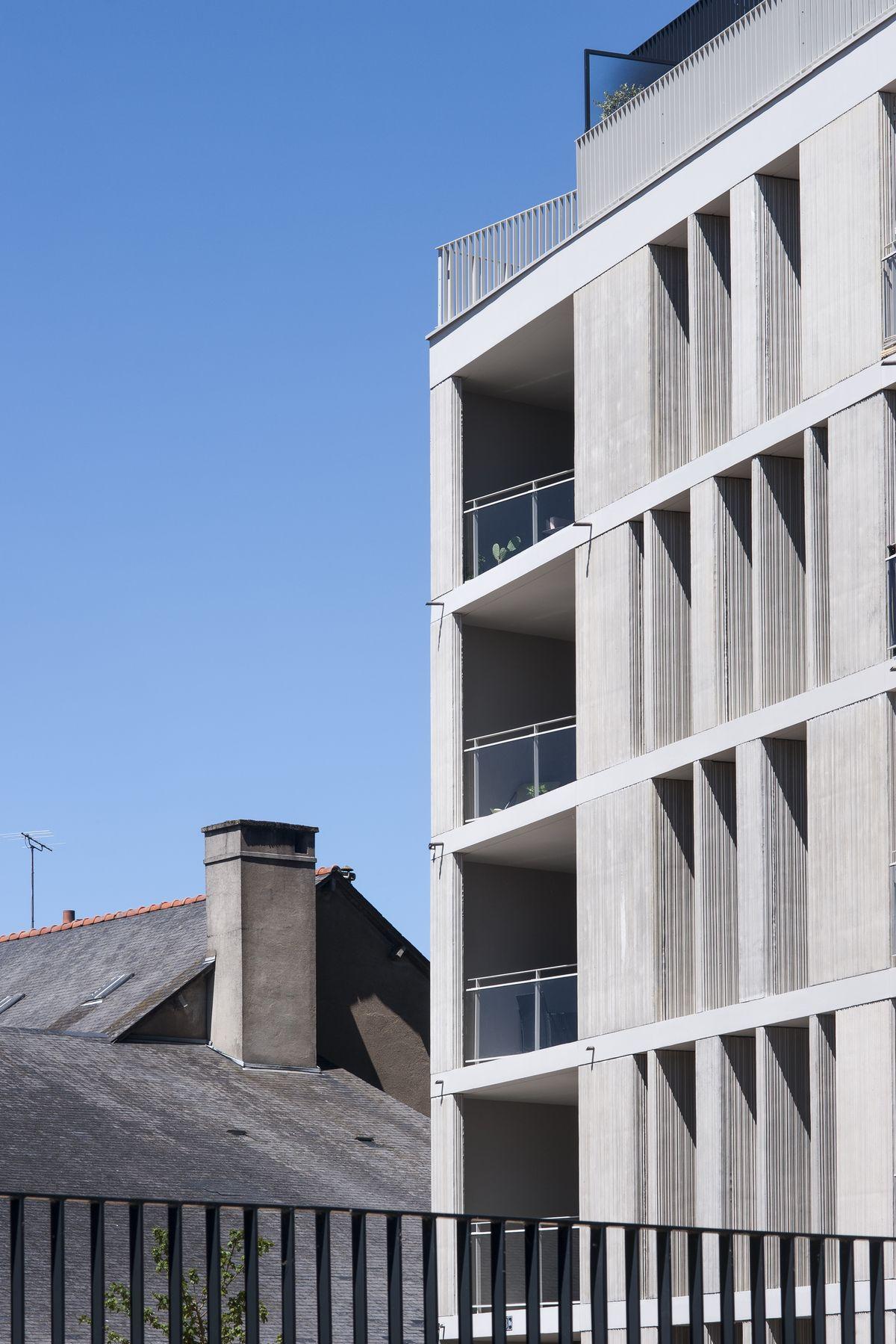Le soho logements chouzenoux architecture architecte for Architecture projet